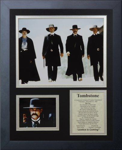 Legends Never Die Grabstein mit Foto-Collage, 11x 14-inch
