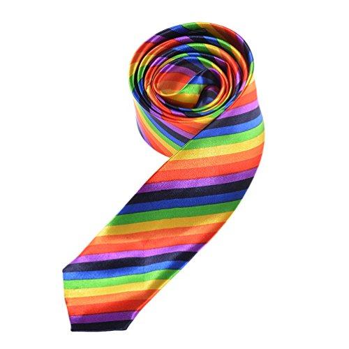 ege Krawatte Strefien Gay Pride Homosexuell Kostüm Unisex (Homosexuell Kostüme)