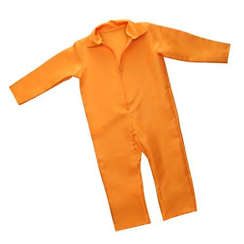 Gazechimp Häftling - Kostüm Herren/Kinder - (Kostüm Jailbird Kinder)