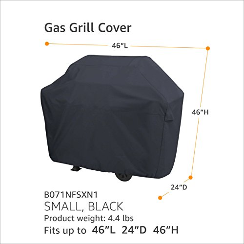 Gas Grill Cover - Small, Black