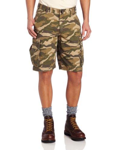 Carhartt Shorts kurze Hose Ripstop Cargotaschen 100279, Farbe:khaki;Größe:34