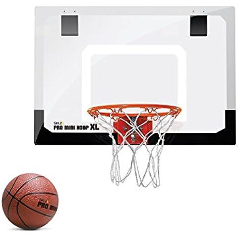 SKLZ HP01–000–02Oficina habitaciones Puerta Canasta de baloncesto Pro Mini Hoop XL