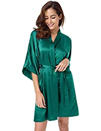Amazon.co.uk  Green - Bathrobes   Nightwear  Clothing 7593e6c45