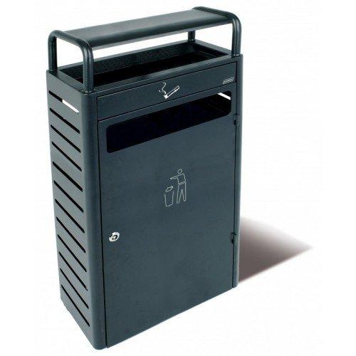 Aschenbecher 5,9L + Container 43L