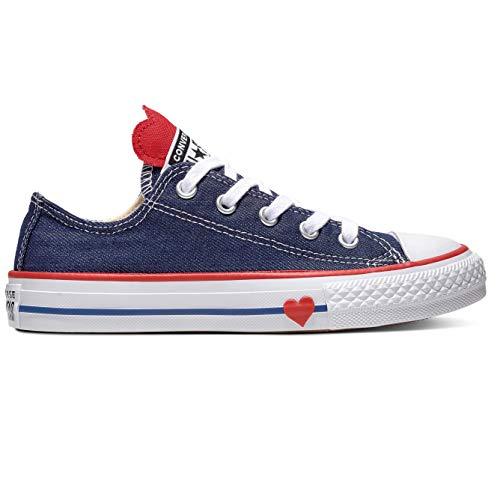 er Chuck Taylor All Stars Sneaker, Blau (Navy/Enamel Red/Blue 000), 28 EU ()