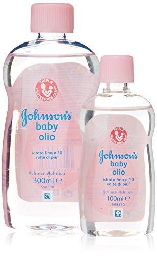 johnsons-baby-olio-ipoallergenico-idrata-la-pelle-bottiglia-di-300-ml-pia-bottiglia-di-100-ml