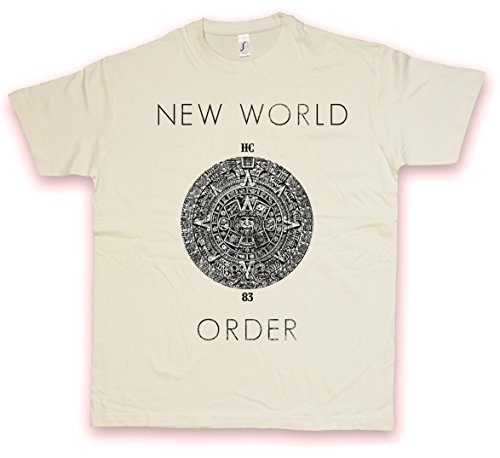 NWO II HC HATE COUTURE T-SHIRT - Illuminaten Erleuchteten Freemason Loge New World Order Illuminati Mason Freimaurer Shirt Größen S - 2XL (M) - Nwo-t-shirt