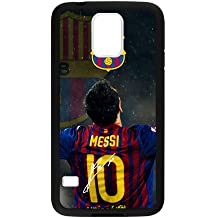 FC Barcelona Lionel Messi Samsung Galaxy S5 Cell Phone Cases Cover Popular Gifts(Laster Technology)