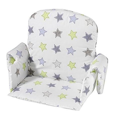 Coussin Chaise Bebe - Geuther Coussin de Chaise Tissu avec Accoudoir
