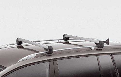 Original Volkswagen VW Ersatzteile Touran Dachreling Original Grundträger Dachträger, silber