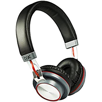 5fc4d9d1cff boAt Rockerz 390 Over-Ear Bluetooth Headphones with Mic: Amazon.in ...