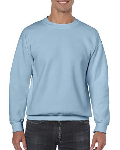 Gildan Heavy Blend Sweatshirt Gr. xl, Blau - Hellblau (1 Kids Ringer T-shirt)