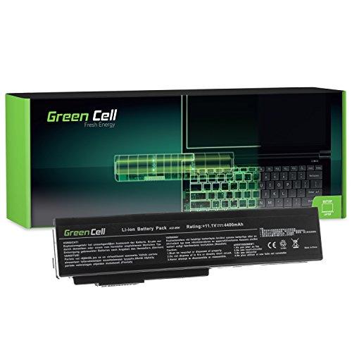 Green Cell® A32-M50 A32-N61 Laptop Akku für Asus N52 N52D N52J N53 N53J N53S N53SV N61 N61DA N61J N61JV N61V N61VG N61VN (6 Zellen 4400mAh 11.1V Schwarz)