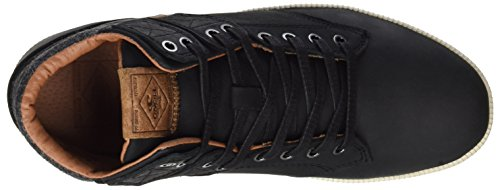 ONeill Raybay LX Leather, Baskets Hautes Homme Schwarz (Black (9900))