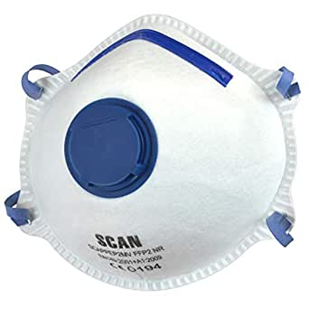 Scan PPEP2MV Valved FFP2 Protection Moulded Disposable ...