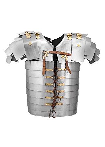 Lorica Segmentata (Corbridge A), aus Stahl, Größe M - Rüstung der römischen (Rüstung Römischen Kostüm Legionärs)