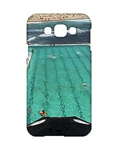 Mobifry Back case cover for Samsung Galaxy E7 SM-E700 Mobile ( Printed design)