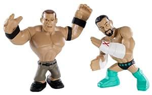 WWE - Catch - Mini figurines - Rumblers - Double Pack - Cm Punk et John Cena
