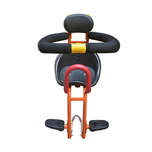 NACHEN Baby Fahrradsitz Elektroroller Fahrräder Kindersitze Vordersitze Sicherheitssitze, red