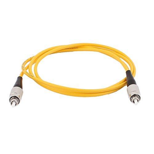 sourcingmap® 1M 3ft Singel-Mode Fiber Jumper Wire FC-FC Optische Faser Patch Kabelkabel SM SX DE de -