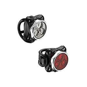 Lezyne Zecto Drive Light Set-Polish Gloss Koki Red 1LED 8P V106