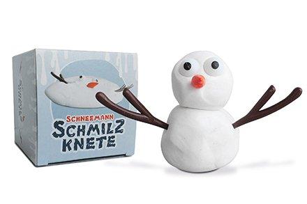 Mini Pupazzo di Neve in plastilina che si scioglie