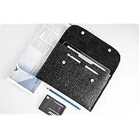 CitySheep Hülle für iPad Pro 10.5 zoll iPad Pro 10.5 mit Keyboard oder Smart Cover Leder und Filz Tasche | Case for iPad | iPad Pro 10.5 Sleeve