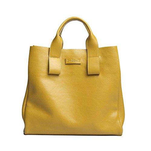 DuDu - Borsa a tracolla donna Giallo (giallo)