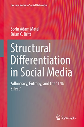 "Structural Differentiation in Social Media: Adhocracy, Entropy, and the ""1 % Effect"" (Lecture Notes in Social Networks)"