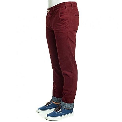 Turbokolor - Jeans - Homme Rouge Bordeaux Rouge - Bordeaux