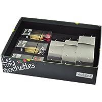 Ard'time PB-COFBROCH Coffret Les Petite Brochettes 3 Supports à Brochettes en Inox + 150 Piques à Brochettes