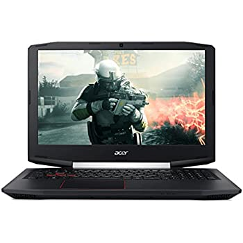 "Acer VX5-591G-78F - Ordenador Portátil de 15.6"" FullHD (Intel Core i7-7700HQ, 8 GB RAM, 1 TB HDD, SSD 128 GB, Nvidia GTX 1050 4 GB, Boot-up Linux); Negro - Teclado QWERTY Español"