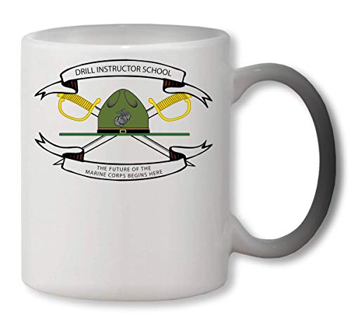 tor School The Future of Marine Corps Heat Mug Color Changing Cup Farbwechsel Tasse ()