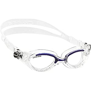 Cressi Flash Swim Goggles Ladies - for Women Crystal Goggles