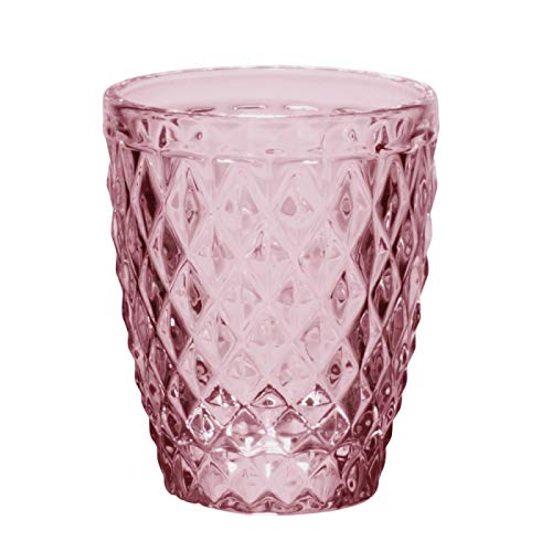 Table Passion - Gobelet diamant lilas 27.5 cl (lot de 6)