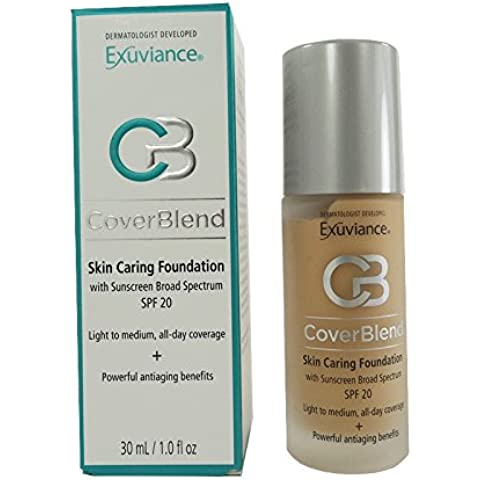 Exuviance - CoverBlend Skin Caring Foundations SPF 20 True Beige by Exuviance