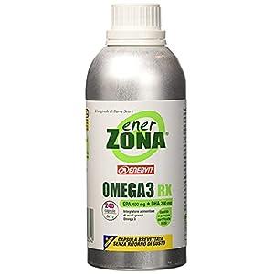Enerzona Enervit, Integratore Alimentare per il Controllo del Colesterolo e Trigliceridi, Omega 3 RX - 240 Capsule 16 spesavip