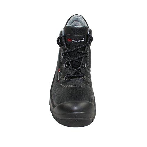 Chaussures de sécurité s3 sRC modyf berufsschuhe 00823 chaussures de haut Noir - Noir