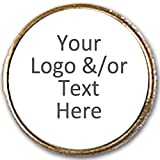 12 x 25mm Metal Pin Badges with Your own Personalised Logo/Picture/Text Centre - Trophy - amazon.co.uk