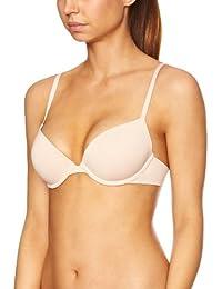 princesse tam tam Women's Nude 108 Seamless Everyday Bra