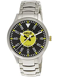 Helix Aviator Analog Multi-Color Dial Men's Watch - 03HG04