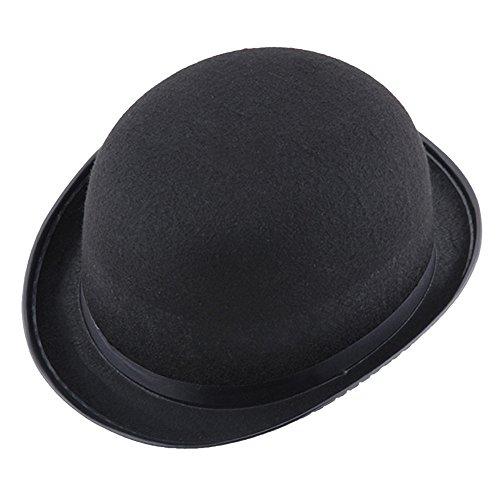 Hut Männlich Kostüm Top - Xuthuly Schwarzer Hut Halloween Magier Magic Hat Jazz Hat