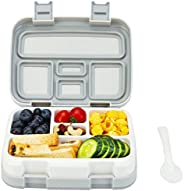 G.a HOMEFAVOR Kids Lunch Box with 5 Compartment, Leakproof Snacks Bento Box for School Picnic, BPA Free Plasti