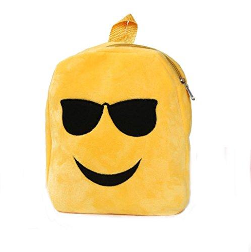 Imagen de  mujer sannysis mujeres bolsos de emoji con cremallera 03