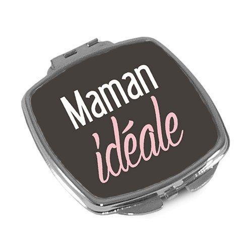 ANGORA Fête des mères Miroir de poche 'Maman idéale' idée cadeau maman
