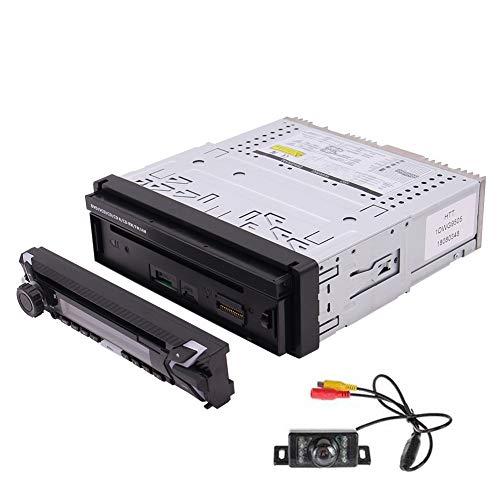 EINCAR Einzel Lärm-Auto-DVD-Spieler im Schlag GPS-Navigation Auto Stereo-AM FM Radio-Unterstützung abnehmbaren Bluetooth Hands-Free USB/SD-Audio/Video-Ausgang SWC Gratis Wireles-Fernbedienung