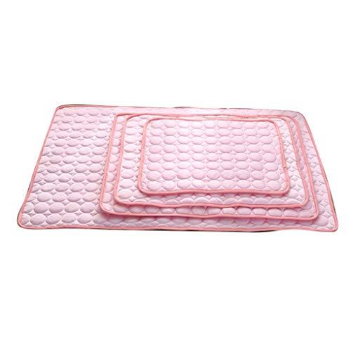 mer-Haustier-Kühler Pad atmungsaktive Softmatte Waschmaschine waschbar Nest Kennel Heimliegekissen ()