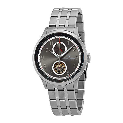 Lucien Piccard Open Heart GMT II Automatic Mens Watch LP-28010A-104