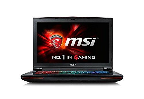 MSI GT72-6QD81 43,9 cm (17,3 Zoll) Laptop (Intel Core i7 -6700HQ (Skylake), 8GB DDR4 RAM, 1TB HDD, NVIDIA Geforce GTX 970M, Win 10 Home) schwarz (970 Grafikkarte Msi)