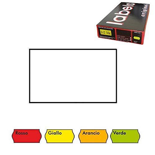 26X 16Rectangular Caja 36rotoli etiquetas etiquetadora